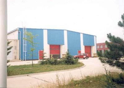 SPP Košice - Opravárenská hala